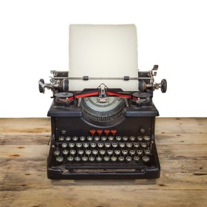 Blog-writing-typewriter